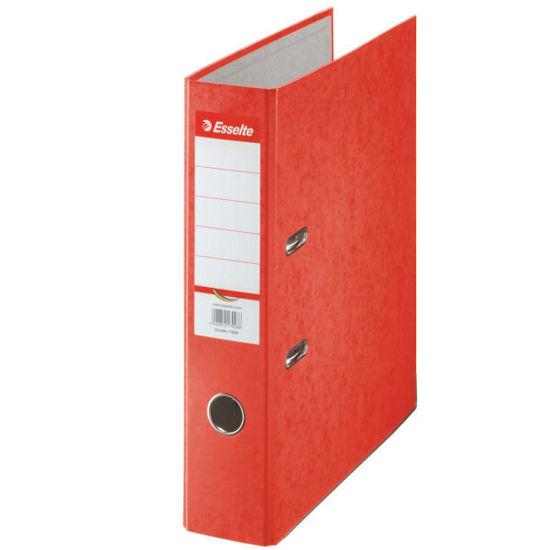 Ringmap Esselte A4 karton 75mm rood