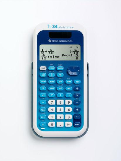 Rekenmachine TI-34 Solar