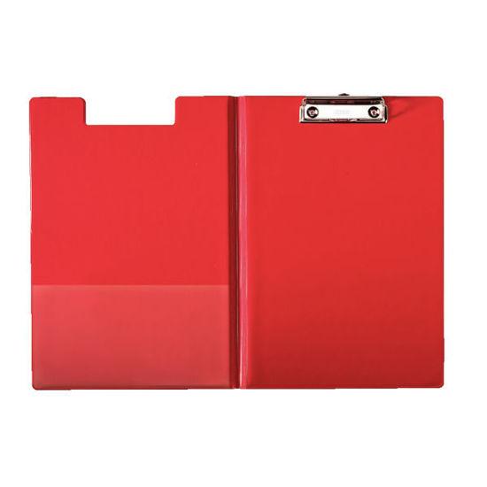 Klembord + omslag rood
