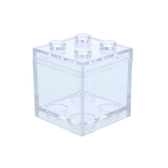 Plexi kubus bouwsteen