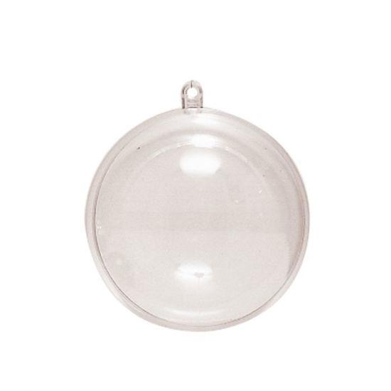 Plastic Bal 2-delig 6cm, kunststof