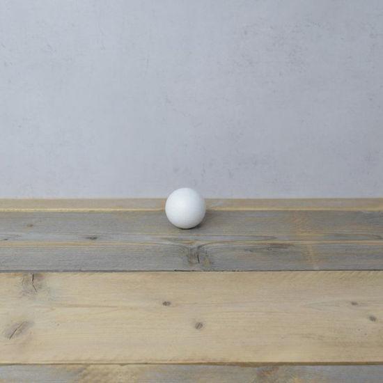 Styropor bal, diameter 6 cm, piepschuim