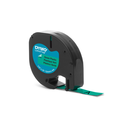 Dymo tape PVC groen