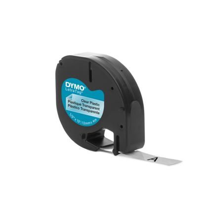 Dymo tape PVC transparant