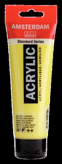 Acrylverf Talens azogeel citroen