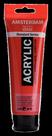 Acrylverf Talens naftolrood donker