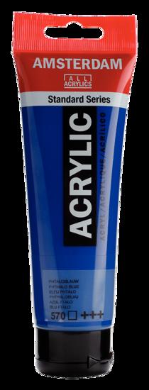 Acrylverf Talens phtaloblauw
