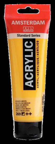Acrylverf Talens azogeel middel