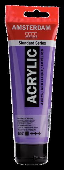Acrylverf Talens ultramarijn violet