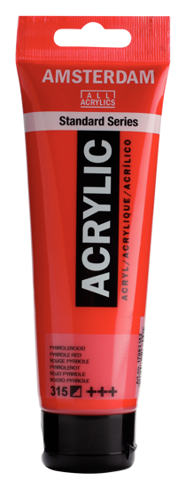 Acrylverf Talens pyrrolerood