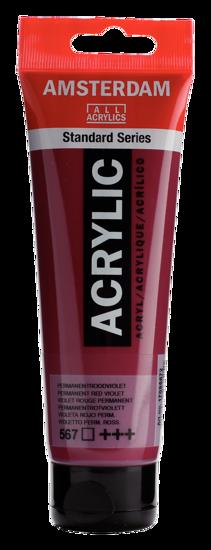 Acrylverf Talens perm.rood violet