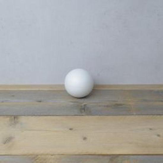 Styropor bal, diameter 10 cm, piepschuim