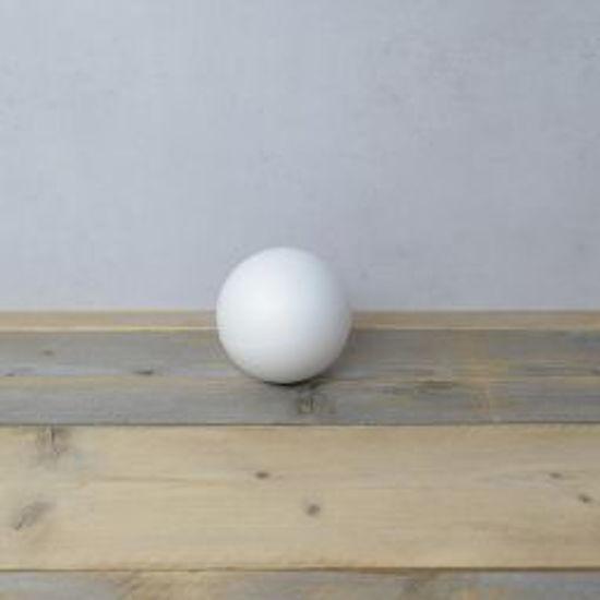 Styropor bal, diameter 12 cm, piepschuim