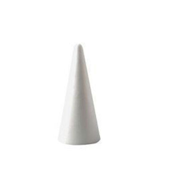 Styropor kegel, hoogte 6.5 cm, piepschuim