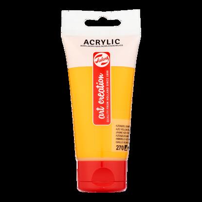 Acrylverf Talens 75ml azogeel donker