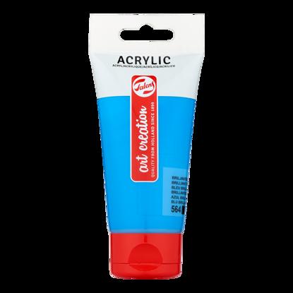 Acrylverf Talens 75ml briljantblauw