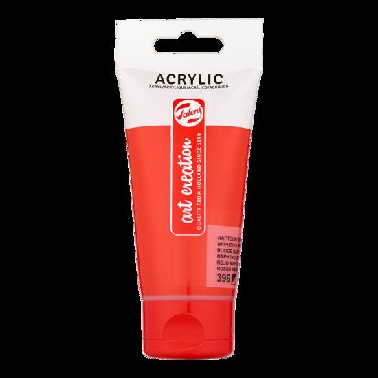 Acrylverf Talens 75ml naftolrood middel