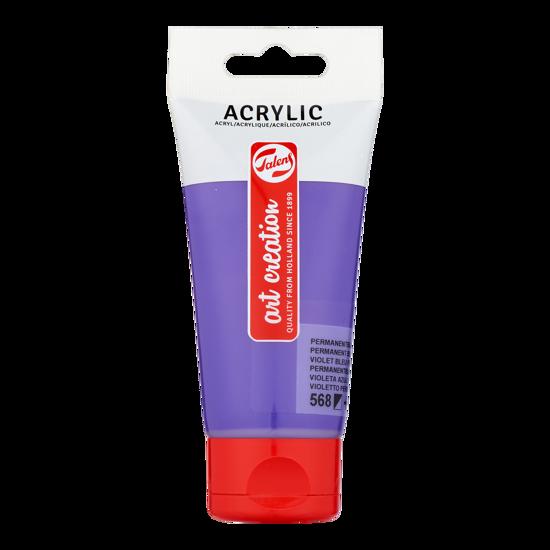 Acrylverf Talens 75ml perm. blauwviolet