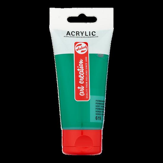 Acrylverf Talens 75ml perm. groen donker