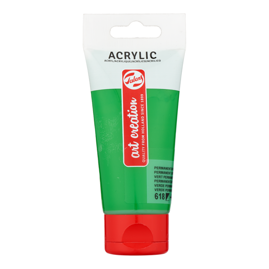 Acrylverf Talens 75ml perm. groen licht