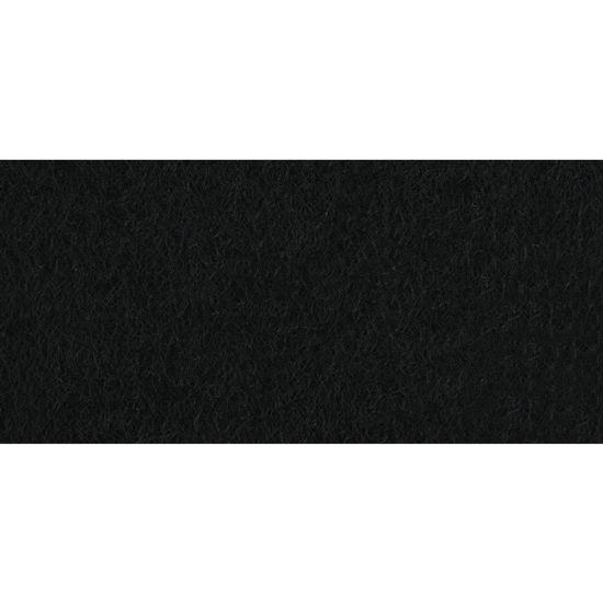 Viltlapjes, zwart, 20x30 cm, 0,8-1mm dik, zak 2 lappen