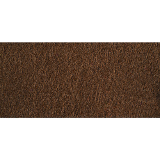 Viltlapjes, medium bruin, 20x30 cm, 0,8-1mm dik, zak 2 lappen