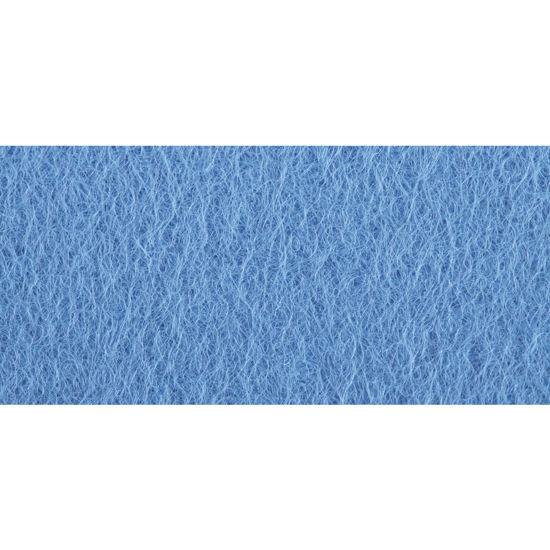 Viltlapjes, licht blauw, 20x30 cm, 0,8-1mm dik, zak 2 lappen