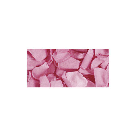 Papier-bloemblaadjes, 2,5 cm ø, roze, zak 10g