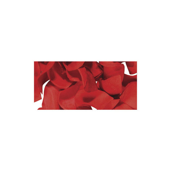 Papier-bloemblaadjes, 2,5 cm ø, rood, zak 10g