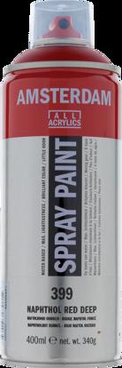 Acrylverf  spuitbus naftolrood