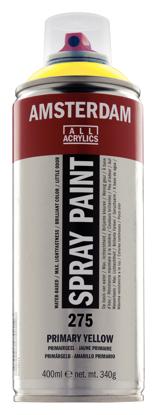 Acrylverf  spuitbus primairgeel