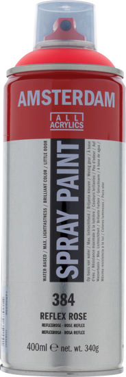 Acrylverf  spuitbus reflexroze