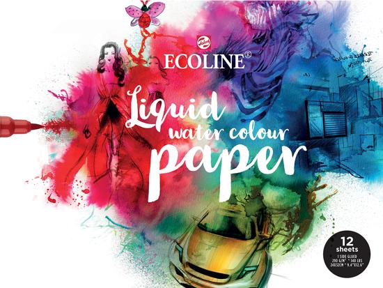 Ecoline papierblok 24 x 32cm