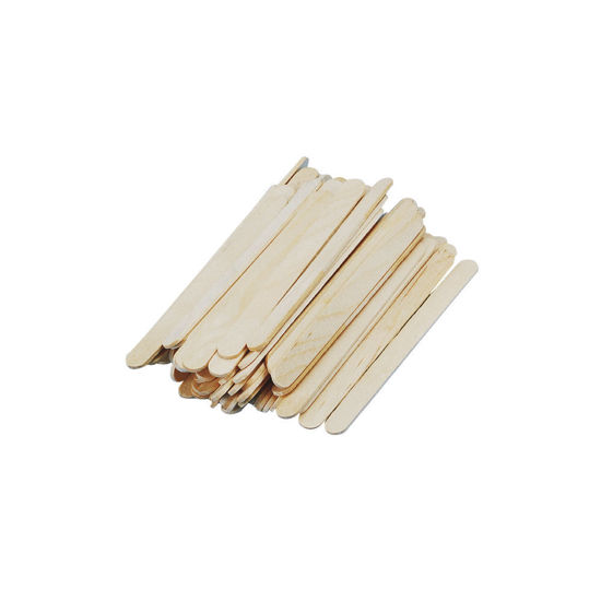 Rayher knutselhoutjes, 110 x 11 mm, naturel, 72 stuks in zakje, 6121731