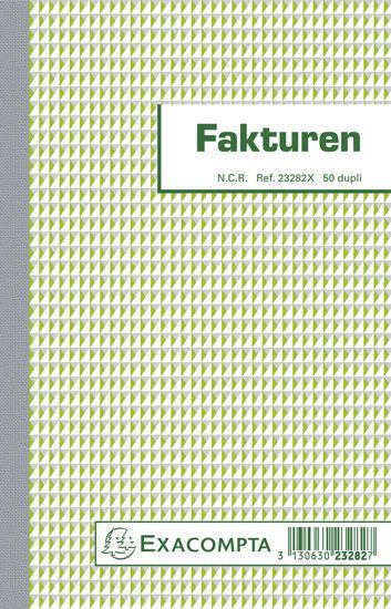 Facturen 21x13,5 (2-voud)