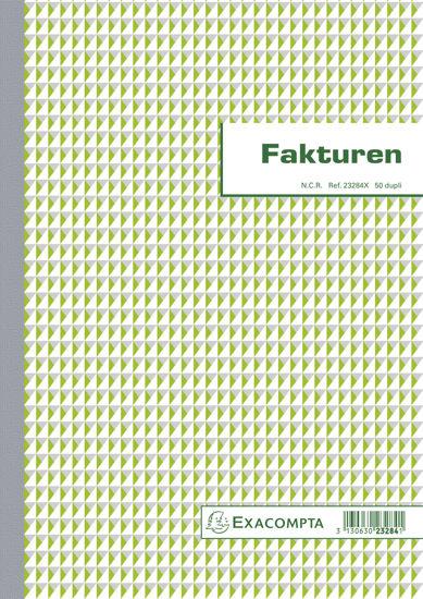Facturen 29,7x21 (2-voud)