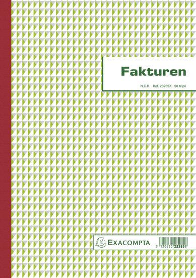 Facturen 29,7x21cm (3-voud)