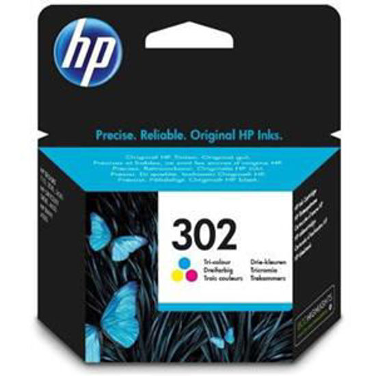 HP inktcardridge 302 3-color, 4ml