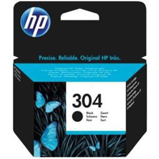 HP inktcardridge 304 zwart, 4ml