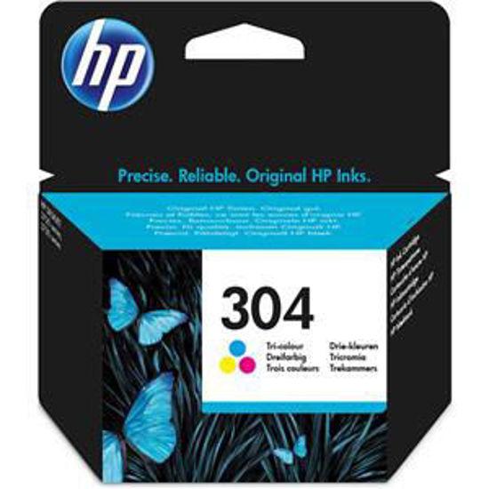 HP inktcardridge 304 3-color, 2ml