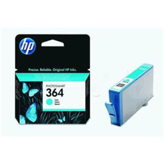 HP inktcardridge 364 cyaan, 3ml