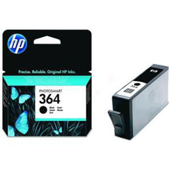 HP inktcardridge 364 zwart, 6ml