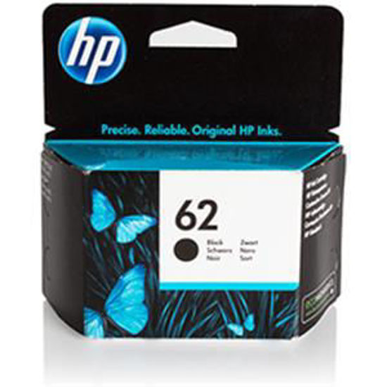 HP inktcardridge 62 zwart, 4ml