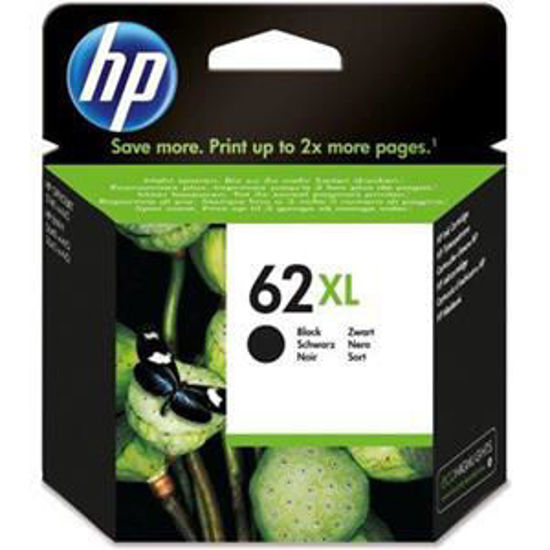 HP inktcardridge 62 zwart XL, 12ml