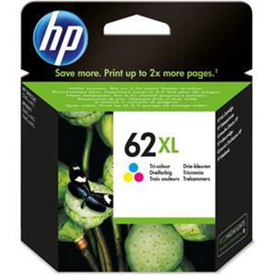 HP inktcardridge 62 XL 3-color, 11,5ml