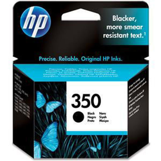 HP inktcardridge 350 zwart, 4,5ml