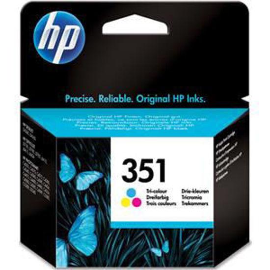 HP inktcardridge 351 3-color, 3,5ml