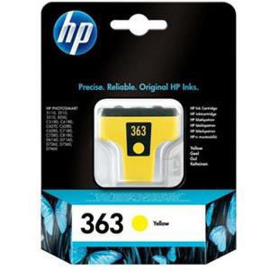 HP inktcardridge 363 geel