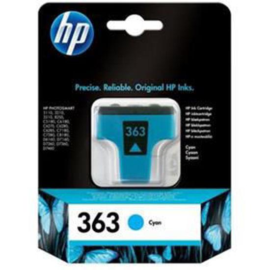 HP inktcardridge 363 cyaan