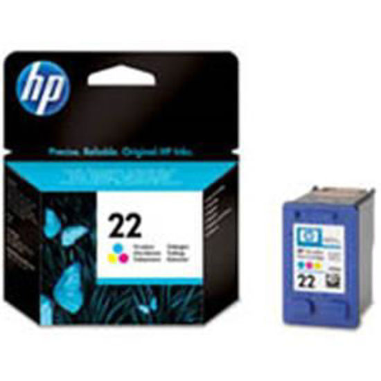 HP inktcardridge 22 3-color, 5ml